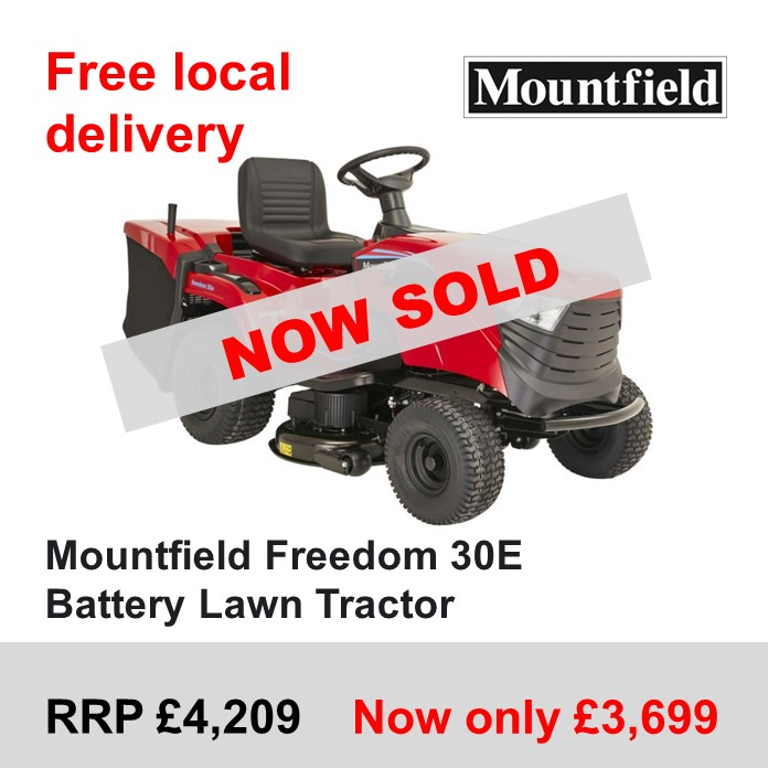 Slide_-_Side_Promotions_Box_-_Mountfield_Freedom_30E_Battery_Lawn_Tractor_SOLD_-13_Oct_2021