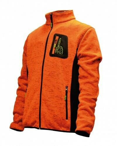 Arbortec orange zip jumper