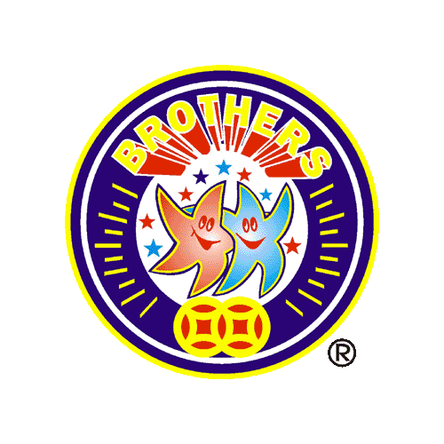 Brothers fireworks logo